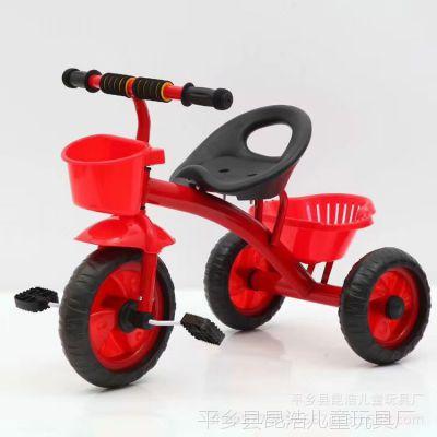 儿童三轮车脚踏车1-3-6岁宝宝手推车小孩自行车童车特价赠品车
