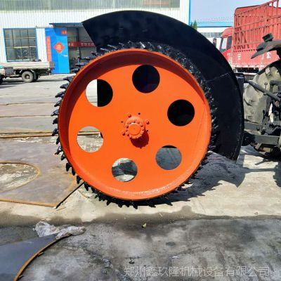 圆盘式开沟机 开沟机厂家 混凝土路面开槽设备