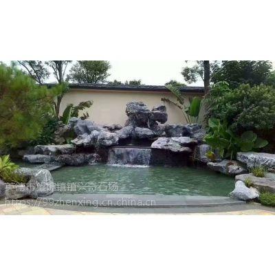庭院假山石 黄蜡石 批发优质太湖石景观石 景观湖驳岸石