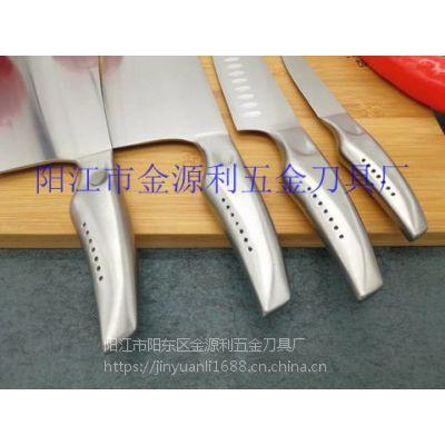 阳江礼品刀具厨房不锈钢刀具套装优雅七件套好厨娘
