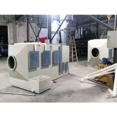 工业卧式废气净化器 金属表面处理废气洗涤吸收塔安全达标