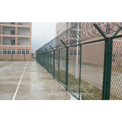 护栏网-机场护栏网-监狱太阳花隔离栅