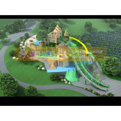 四川成都景区游乐设施 多功能性不锈钢滑梯大型设备厂家专业设计定制 儿童主题乐园