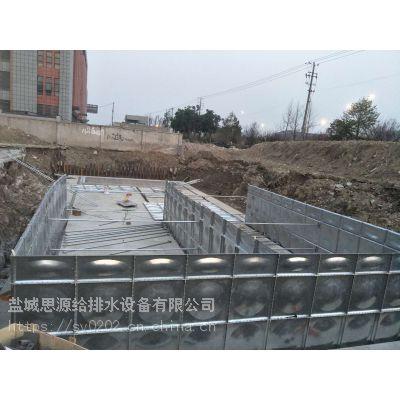 抗浮式地埋箱泵一体化消防泵站 厂家出图安装售后一条龙