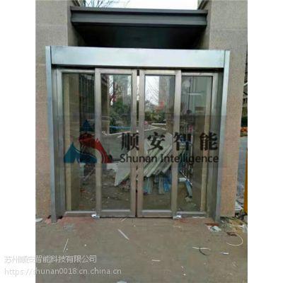 上海小区智能一卡通平移门禁安装 防尾随平移门安装