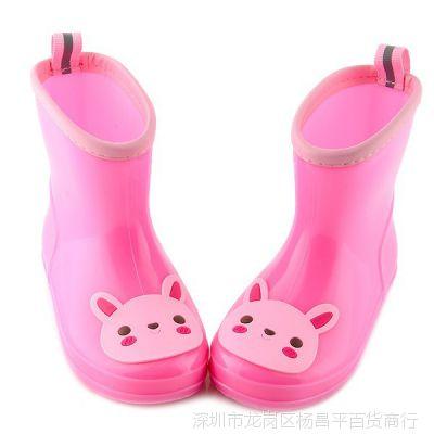 包邮防滑儿童雨鞋幼儿水鞋男童宝宝胶鞋小孩雨靴女童套鞋秋冬夏春
