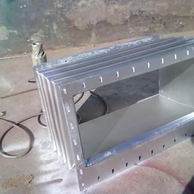 热力管道矩形波纹补偿器,不锈钢法兰式方形补偿器规格齐全