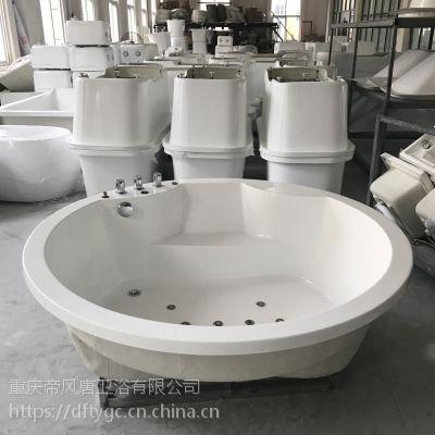 亚克力浴缸厂家直销定做批发家用按摩浴盆欧式