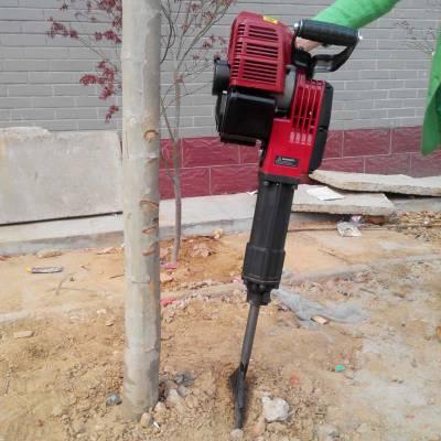 合金链条挖树机 便携式苗木移栽机 铲式起树机
