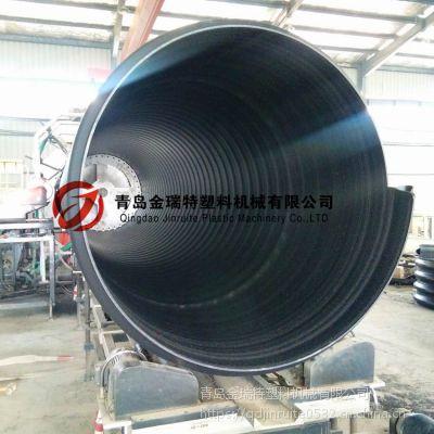 PE钢带埋地包覆增强螺旋管生产线