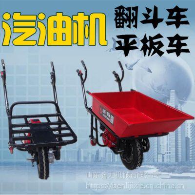 崎岖小道运货的独轮推车 拉货上山有劲的农用斗车 奔力 DL-BL-1