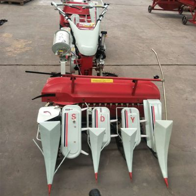 多功能小型割捆机价格 手推式稻麦割捆机厂家