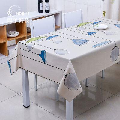RNPT瑞年 厂家直供pvc桌布防水防烫塑料台布茶几布