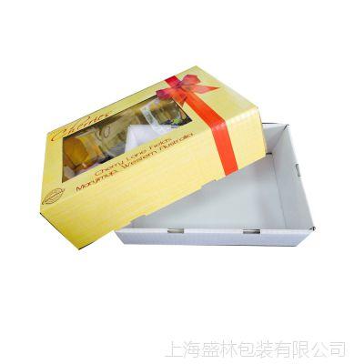 水果礼盒蔬菜包装盒鲜果彩箱樱桃礼盒水蜜桃包装彩盒印刷包装设计