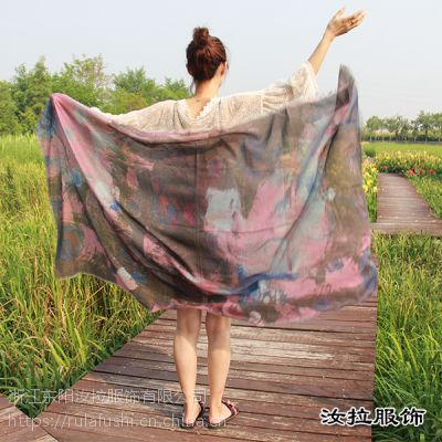 围巾工厂,专业围巾生产经营厂家-汝拉服饰 近10000个围巾款式供选择
