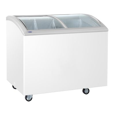 Haier/海尔商用卧式冷冻柜 SC/SD-262C冷冻冷藏柜 雪糕饮料展示柜