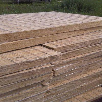 潍坊市高密度复合插丝岩棉保温板11个厚一吨多少钱