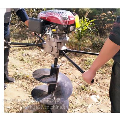 耐磨螺旋钻头打坑机 一米深度拖拉机挖坑机 钻孔快速的地钻