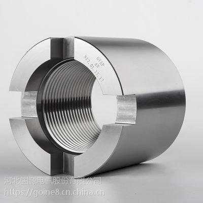 25Cr2Mo1VA开槽螺母_高温高压开槽螺母_汽轮机开槽螺母生产