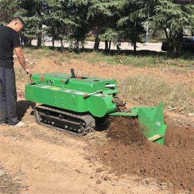 果树管理施肥机 自走式履带旋耕除草机