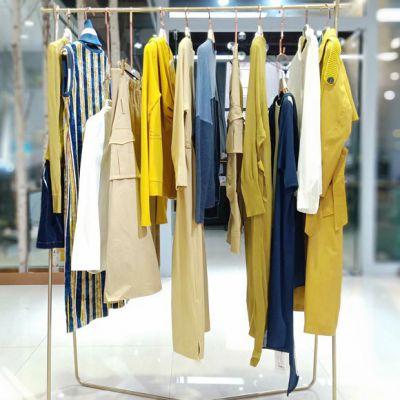 一线女装折扣店米梵19春装张莉连衣裙时尚货源品牌大全