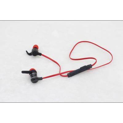 新款金属拉丝外壳磁吸运动降燥倾斜式入耳蓝牙耳机