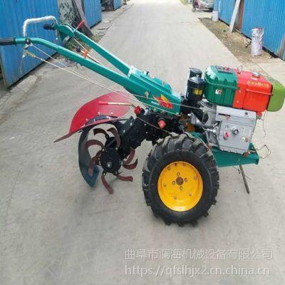 单缸柴油手扶拖拉机 小型拖拉机犁地 犁地旋耕机