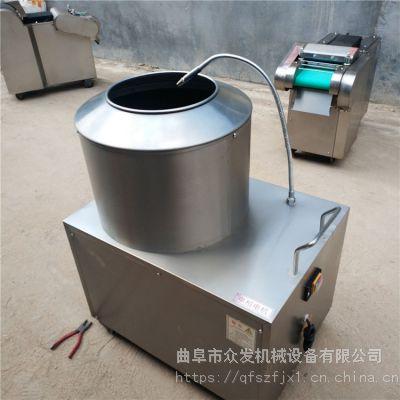 多功能去皮清洗机 半自动马铃薯磨皮机型号 去皮机