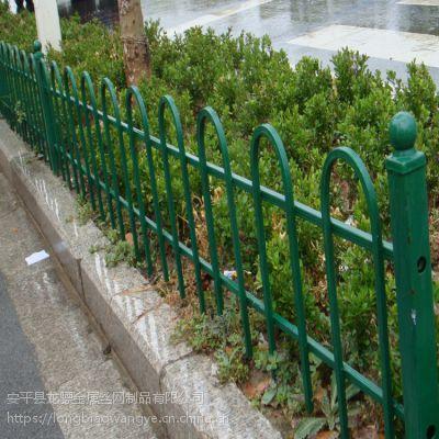 仿木塑钢护栏 塑钢草池护栏 新农村建设围栏