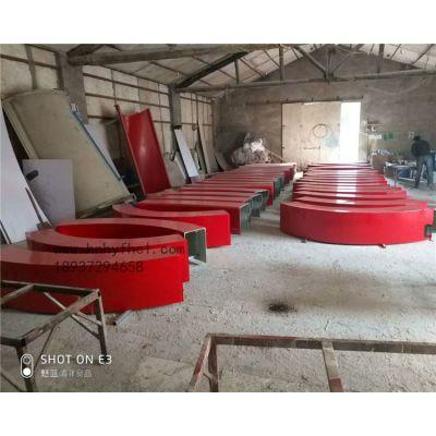 河南玻璃钢坐凳 座椅 厂家异形定制 玻璃钢休闲组合座凳坐椅