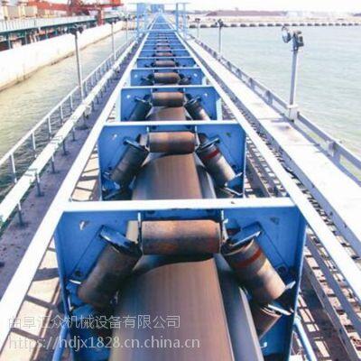 广东管状皮带机 新型带式输送机绿色环保