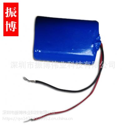 18650可充电锂电池组合 加板并联出线电池组3.7V 4000mah