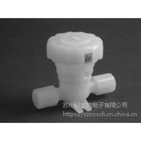 美国PARKER派克超纯特氟龙3/4 PFA手动两通隔膜阀MV-16-0612-01