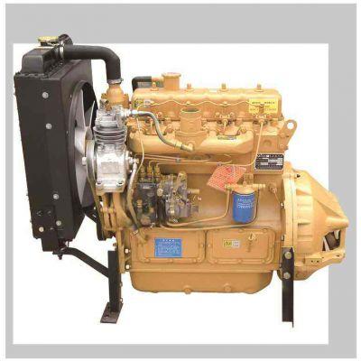 宿州ZH4102ZP四缸带增压柴油机 潍柴52kw粉碎机收割机专用柴油机