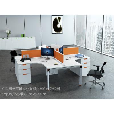 朗哥家具 办公桌 屏风卡位朗合系列-迪奥4 厂家定制