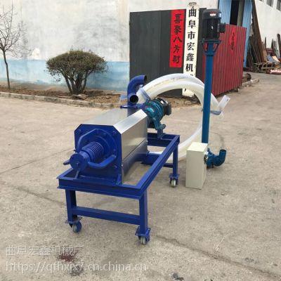 不锈钢筛网粪便分离机 鸡粪猪粪脱水机价格 多功能干湿分离机厂家