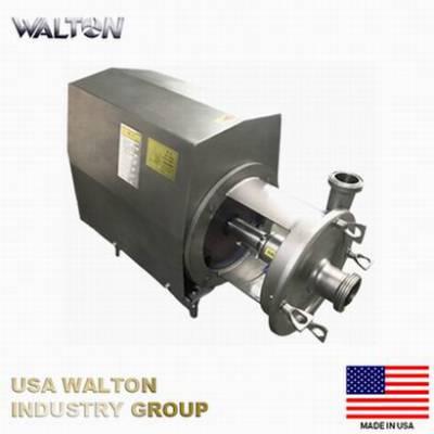 进口双效泵、双密封进料泵、双密封奶泵、 美国WALTON沃尔顿