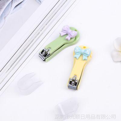 可爱不锈钢指甲刀指甲剪 卡通韩国剪指甲刀修甲工具指甲钳