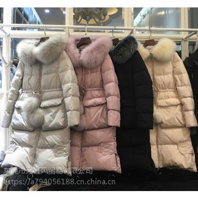 便宜女装尾货棉服羽绒服清货几块钱的尾货批发冬季棉袄中长款棉衣清