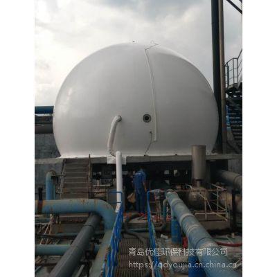 供应青岛优佳沼气工程专用 双膜气柜,沼气专用膜材制作100立方双膜储气柜,沼气柜