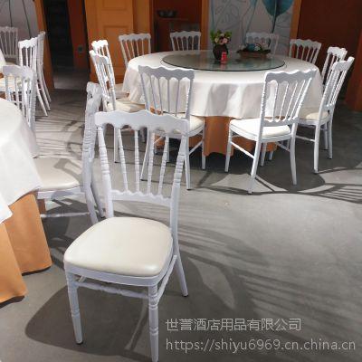 上海度假酒店户外宴会椅 草坪婚礼竹节椅主题餐厅古堡椅