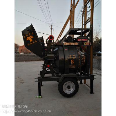 张家港天旺JG320搅拌加提升结构一体型搅拌设备