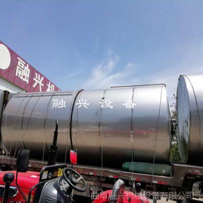 20吨不锈钢酒灌子 卧式纯净水储运罐厂家报价 性价比高的酿酒设备型号