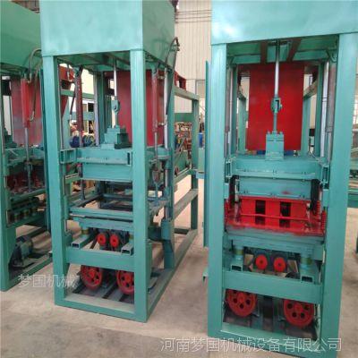 【建材加工设备】小型免烧混凝土井壁模块设备 水泥砖机生产厂家