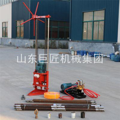 华夏巨匠地质勘探钻机型号QZ-2D小型电动款岩心勘探钻机价格