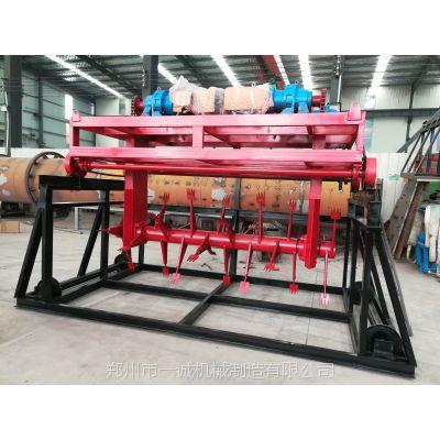 郑州有机肥翻堆机的正确使用过程