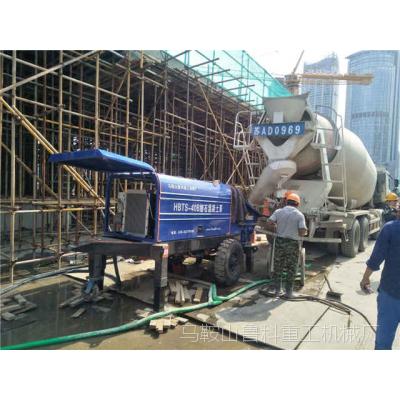 细石混凝土泵施工的维护注意事项