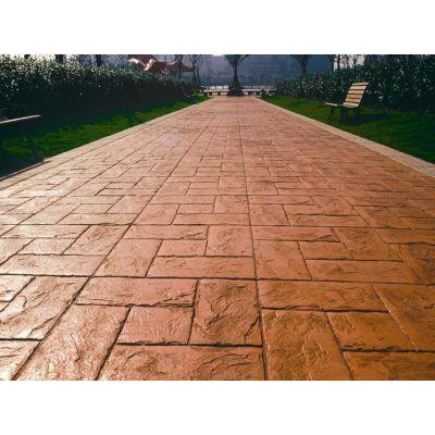 潍坊青州彩色混凝土压花地坪施工工具 亚斯特