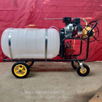 消毒喷雾器 农田高压喷雾器视频 电机带100升喷药消毒机宇晨直销