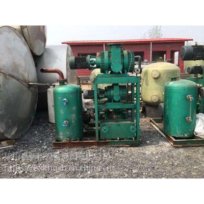 邦杰二手真空设备,二手300600真空蒸馏罗茨真空泵,二手20立方水环式真空泵